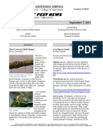 Kentucky Pest News September 7, 2011