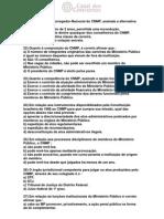 Mpu Exercicios Claudio Tenorio Legislacao Aplicada -QUESTOES