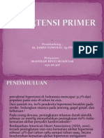 Hipertensi Primer
