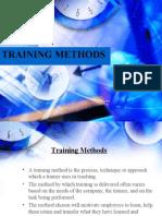 TRAINING METHODS& techniques(9)