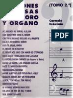 Canciones famosas para coro y órgano II_Carmelo Erdozáin