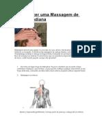 Como Fazer uma Massagem de Cabeça Indiana