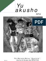 Yuyu Hakusho RPG Para Daemon