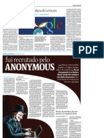 Folha - 20110907 - Fui Recrutado Por Anonymous