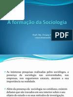 A formação da Sociologia