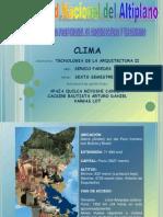 Presentación1- CLIMA