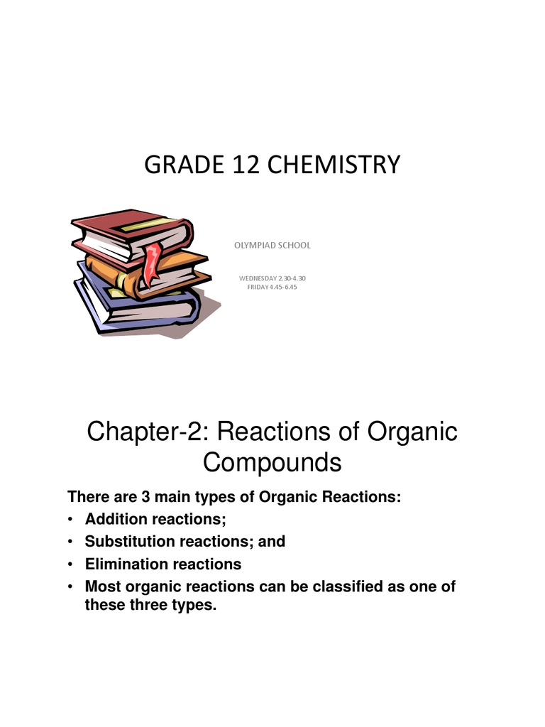 Class02 ChemistryG12 Notes and Homework | Chemical Reactions