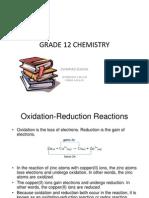 Class12 ChemistryG12 Notes and Homework