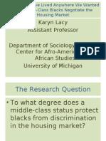 Prof. Karyn Lacy