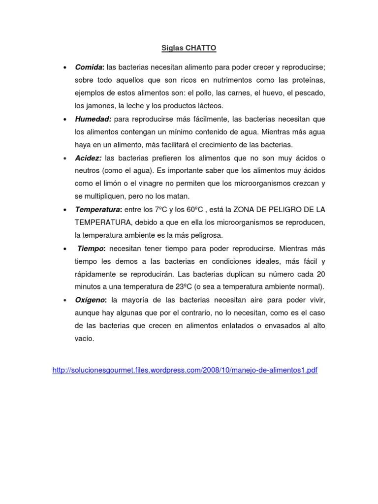 Siglas chatto - Alimentos ricos en proteinas pdf ...