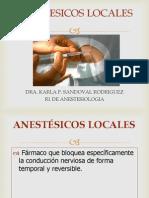 Anestesicos Locales Karla