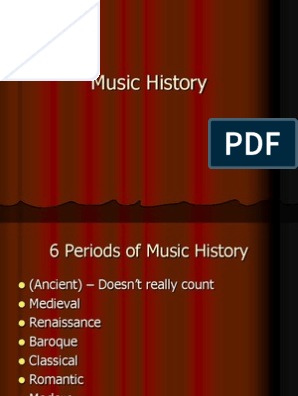 Music History   Classical Period (Music)   Composers