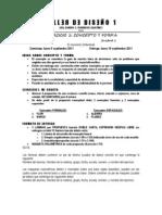 EJERCICIO 1 TALLER DE DISEÑO 1