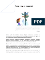 DÓNDE ESTÁ EL ORIENTE