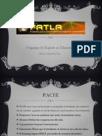 PACIE - Bloque Academico