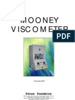 Mooney Viscometer Technical DataSheet