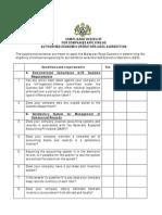 Aeo Compliance Checklist