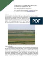 Cosmin Hurjui Dumitru Nistor Nelu Popa Gabriel Petrovici Rill and Inter-Rill Erosion Measurements by RTK GPS in Tarnii Valley Eastern Romania