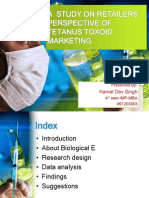 A Study on Retailers Perspective of Tetanus Toxoid....