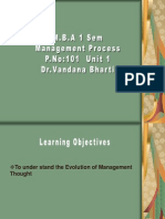 Unit 1 Management Theories