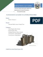 El Estado y Actividad Financier A