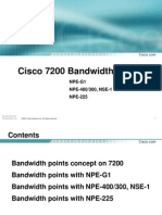 Cisco Bandwidth Points