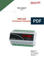 RDM 680 Manual