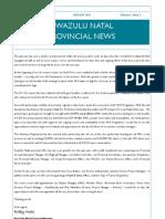 WoF KZN Provincial Newsletter