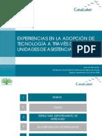 Experiencia en Adopción de Tecnología a Través de UAT