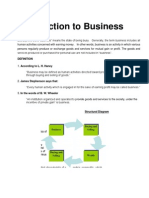 Introduction to Business Note1