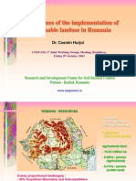 Policy Issues of the Implementation of Sustainable Landuse in Romania, Cosmin Hurjui