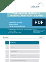 Experiencias éxitosas en Manejo Integrado de Plantación