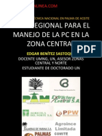 Plan Regional Para El Manejo de La PC en La Zona Central