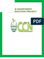The Rain Forest Conservation Project