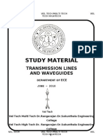 Transmission Lines & Wave Guides