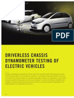 ATZ-Driverless Chassis Dynamo Meter Testing of Electric Vehicles