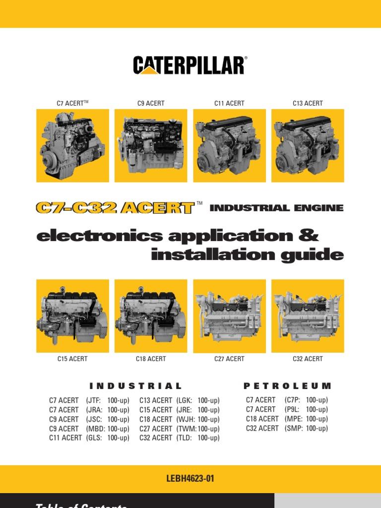 Ungewöhnlich C15 Cat Motor Verdrahtungsschemata Galerie - Schaltplan ...