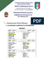 rio Promozione Girone D