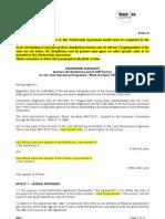 Ia Partnership Agreement Beneficiary and ENPI Partner