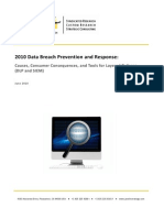 2010 Data Breach Prevention Response