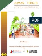 petunjuk pelaksanaan pembangunan jalan desa