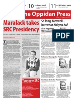 The Oppidan Press Edition 9 2011