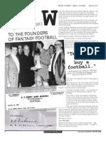 Fantasy Football History
