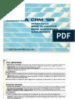 Manual de Usuario CRM125 Baja Calidad