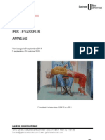 Cp Amnesie Iris Levasseur
