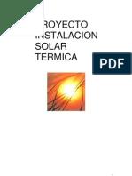PROYECTO Instalacion Solar