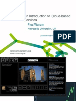 Introduction to Cloud Based Services PWatson(1)