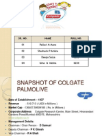 Colgate Palmolive Financial Statement