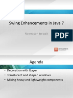 Swing Enhancements in Java 7