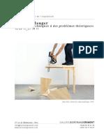 """Vincent Mauger """"Solutions techniques à des problèmes théoriques"""""""